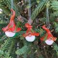Gnome Christmas decoration trio - Balthazar, Rudolph & Yule