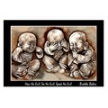 Buddha Babies Quote - Canvas Stretched