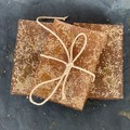 Handmade Olive Oil, Cinnamon & Raw Sugar Soap, with Rosehip & Vitamin E