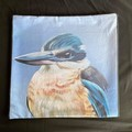 Kingfisher Throw Cushion