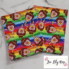 Rainbow BOB Tea Towel