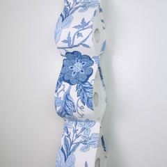 Toilet Roll Holder, Paper Holder / Storage for Bathroom, Caravan - Blue