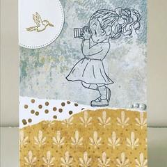 Little photographer card