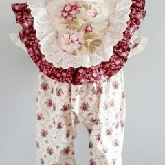Ruffled front romper size 18m-2