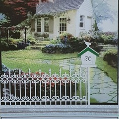 """English cottage garden"" - Blank, Birthday, Thinking of you, Personalised"