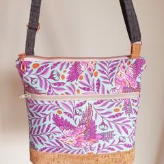 Koda Handbag / Crossbody Bag in Tula Pink