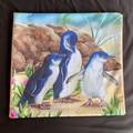 Penguins Throw Cushion