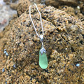 Green Mermaid Pendant