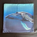Humpback Whale Throw Cushion