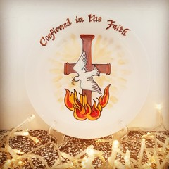 Religious - Hand painted personalized plates (keepsakes)