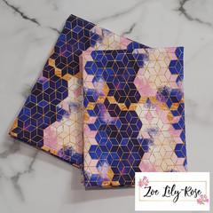 Geometric Gold Tea Towel