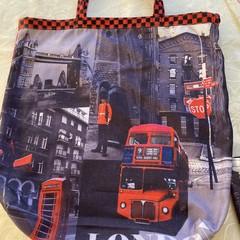 TOTE BAG  LONDON PRINT