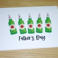 Father's Day card - Beers