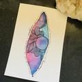 Abstract Vulva - Yoni Artwork - Sacred Feminine