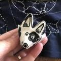 Little Dog 🐕 Pin cushion pottery