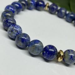 Lapis Lazuli Stretchy Bracelet | Adorn