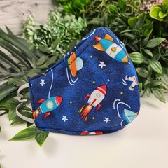 Spaceman - Face Cover (Mask) - 3 Layers - Unisex