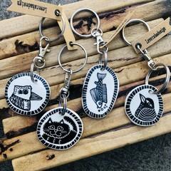Key tags/ bag tags