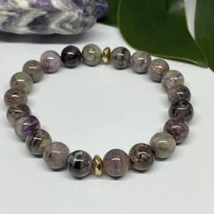 Charoite Stretchy Bracelet | Adorn