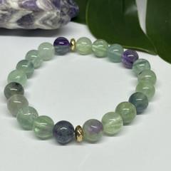 Fluorite Stretchy Bracelet | Adorn