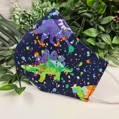 Dinosaur - Face Cover (Mask) - 3 Layers - Unisex