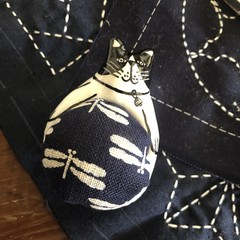 Cat 🐈⬛ Pin cushion pottery