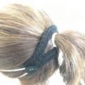 Ponytail Ear saver 2 Button smaller size