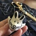 Little rabbit 🐰  Pin cushion pottery