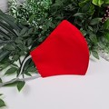 Red - Face Cover (Mask) - 3 Layers - Unisex