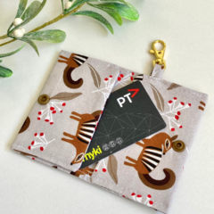 Card Holder/ Numbats/ Key Chain Wallet/ Bus Pass Holder/ Credit Card Wallet