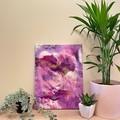 Pink/Purple Acrylic Pour