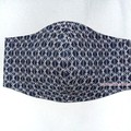 NEW! #31 : 3 LYR COTTON FACE MASK w/ FILTER POCKET + WITH/or/WITHOUT WIRE