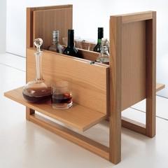 Bespoke Mini-Bar Cabinet (Exotic Wood Species)