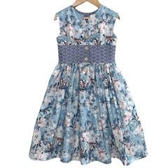 *NEW* Blue Floral Darling Opal Dress