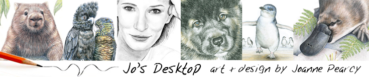 Jo's Desktop - Art & Design by Joanne Pearcy