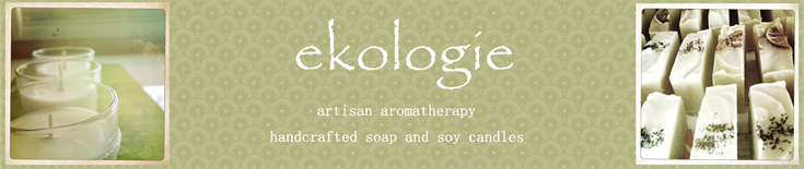 ekologie handcrafted soap and soy candles