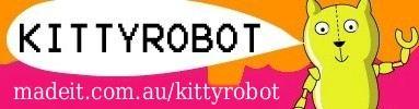 KITTYROBOT handmade Buttons and Cuties