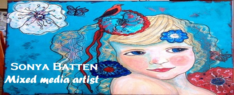 Original Mixed Media Art  by Sonya Batten