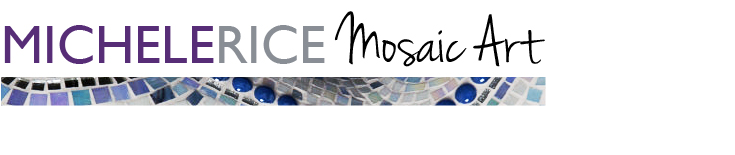 Michele rice mosaic art