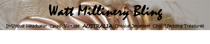 Watt Millinery Bling