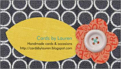 Cards by Lauren